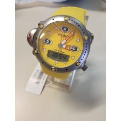 Orologio Uomo Vagary  Diver Giallo Silicone Alarm