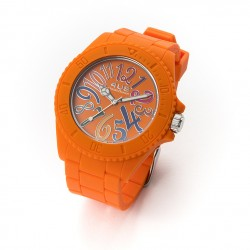 Orologio Silicone Paciotti 4US Arancione T4RB213