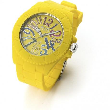 Orologio Silicone Paciotti 4US Giallo T4RB208
