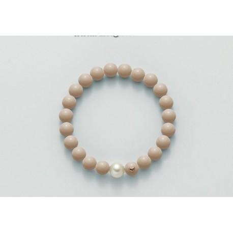 Bracciale Miluna in oro con perle Terra e Mare PBR2085