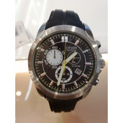 Orologio Uomo Citizen  Chrono Eco drive Silicone  AT0635-02F